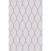 George TS3005 Oatmeal / Blue Wool Hand-Tufted Rug