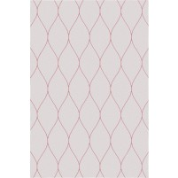 George TS3005 Oatmeal / Pink Wool Hand-Tufted Rug