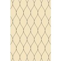 George TS3005 Peach / Black Wool Hand-Tufted Rug