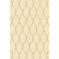 George TS3005 Peach / Green Wool Hand-Tufted Rug