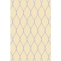 George TS3005 Peach / Blue Wool Hand-Tufted Rug