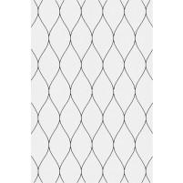George TS3005 Silver / Black Wool Hand-Tufted Rug