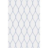 George TS3005 Silver / Blue Wool Hand-Tufted Rug