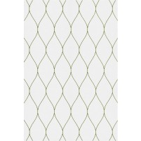 George TS3005 Silver / Green Wool Hand-Tufted Rug