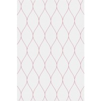 George TS3005 Silver / Pink Wool Hand-Tufted Rug