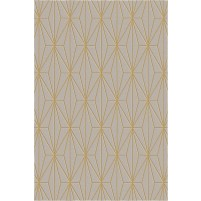 Floyd TS3013 Brown / Gold Hand-Tufted Rug