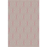 Floyd TS3013 Brown / Pink Hand-Tufted Rug