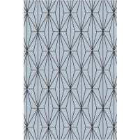 Floyd TS3013 Grey / Black Hand-Tufted Rug