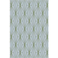 Floyd TS3013 Grey / Green Hand-Tufted Rug