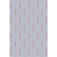 Floyd TS3013 Grey / Pink Hand-Tufted Rug