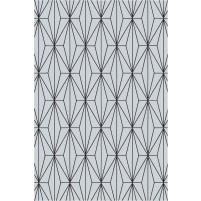 Floyd TS3013 Gray / Black Hand-Tufted Rug