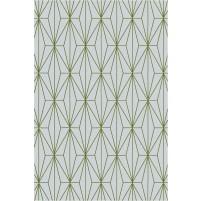 Floyd TS3013 Gray / Green Hand-Tufted Rug