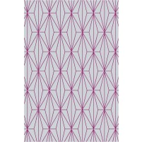 Floyd TS3013 Gray / Purple Hand-Tufted Rug