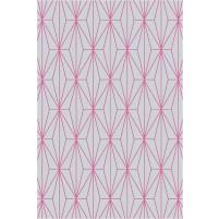 Floyd TS3013 Gray / Raspberry Pink Hand-Tufted Rug