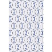 Floyd TS3013 Oatmeal / Blue Hand-Tufted Rug