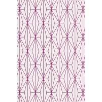 Floyd TS3013 Oatmeal / Purple Hand-Tufted Rug
