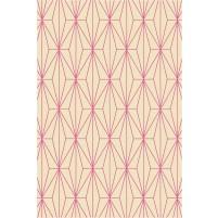 Floyd TS3013 Peach / Raspberry Pink Hand-Tufted Rug