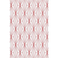 Floyd TS3013 Silver / Christmas Red Hand-Tufted Rug