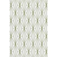 Floyd TS3013 Silver / Green Hand-Tufted Rug
