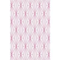 Floyd TS3013 Silver / Raspberry Pink Hand-Tufted Rug