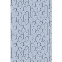 Amelia TS3015 Handmade Gray / Iris Blue Rug