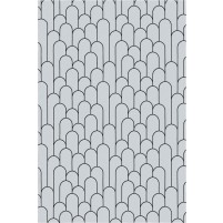 Amelia TS3015 Handmade Grey / Black Rug