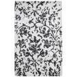 Handmade Wool/ Viscose Floral Ivory/ Brown 5x8 lt1043 Area Rug