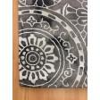 Handmade Wool Floral Gray/ Ivory 5x8 lt1054 Area Rug