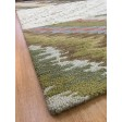Handmade Wool Modern Ivory/ Brown 5x8 lt1089 Area Rug