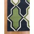 Handmade Wool Modern Blue/ Green 5x8 lt1091 Area Rug