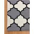 Handmade Wool Modern Ivory/ Gray 5x8 lt1138 Area Rug