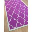 Handmade Wool Modern Pink/ Ivory 5x8 lt1197 Area Rug