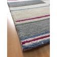Handmade Wool Modern Ivory/ Gray 5x8 lt1356 Area Rug