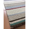 Handmade Wool Modern Ivory/ Silver 5x8 lt1359 Area Rug