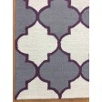 Handmade Wool Modern Ivory/ Gray 5x8 lt1380 Area Rug
