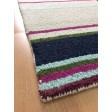 Handmade Wool Modern Ivory/ Navy Blue 5x8 lt1461 Area Rug