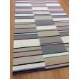 Handmade Wool Modern Ivory/ Silver 5x8 lt1583 Area Rug